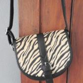Tasje zebra print