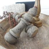 Stoere houten pinakel