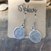 Oorbellen hangers zilver